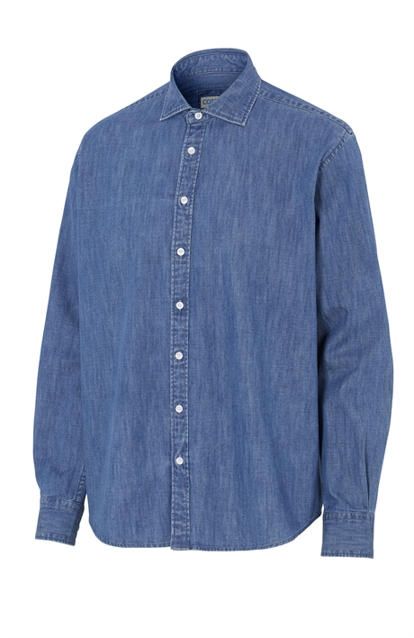 Denim Shirt Comfort Man