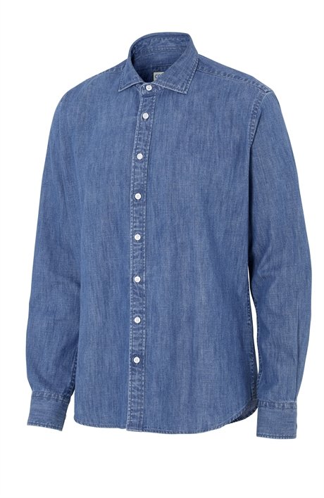 Denim Shirt Slim Fit Man